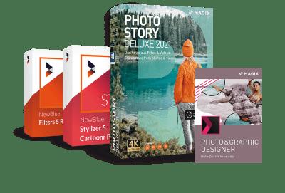 Upgrade: MAGIX Photostory Deluxe 2021