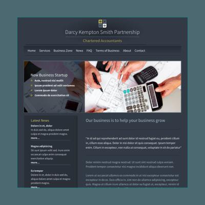 Buchhaltung 2 (Web-Vorlage)