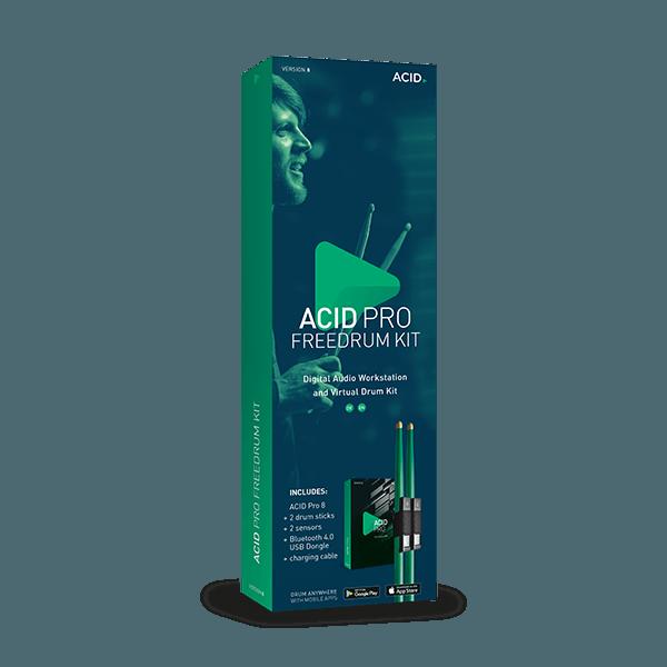 ACID Pro 8 Freedrum Kit
