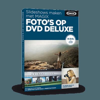 Slideshows maken met MAGIX Foto's op DVD Deluxe