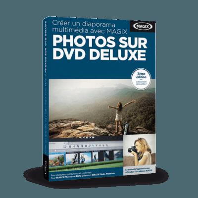 Créer un diaporama multimédia avec Photos sur DVD Deluxe