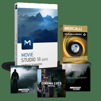 Upgrade: Movie Studio 18 Suite