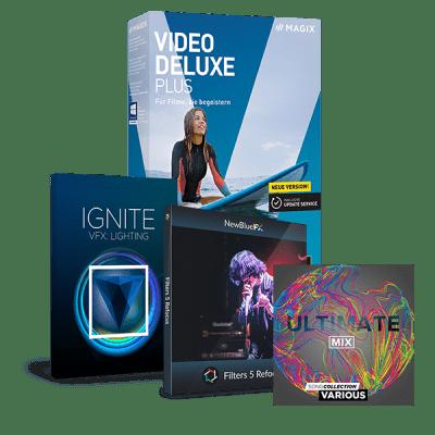 Upgrade: MAGIX Video deluxe Plus
