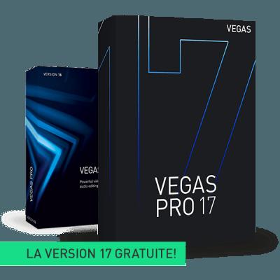 Mise à niveau : VEGAS Pro 16