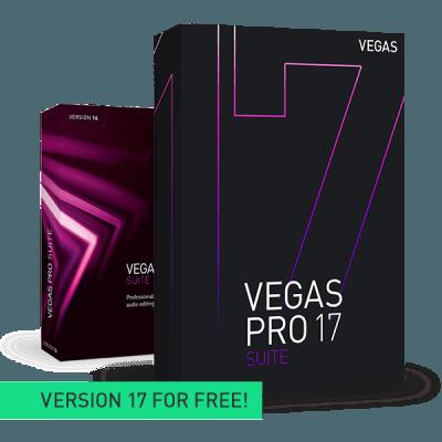 Upgrade: VEGAS Pro 16 Suite