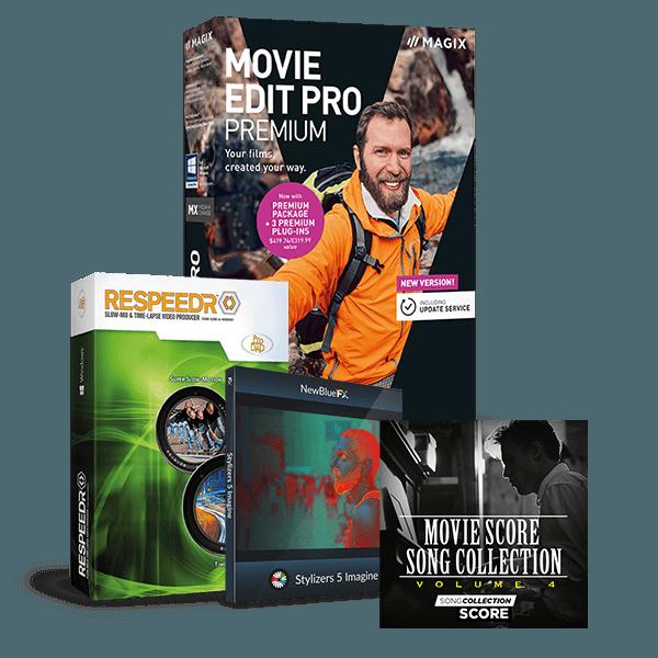 Bundle video premium respeedr imagine movie score en 600