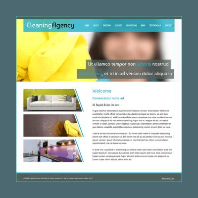Reinigungsfirma 4 (Web-Vorlage)
