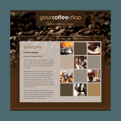 Café 5 (Web-Vorlage)
