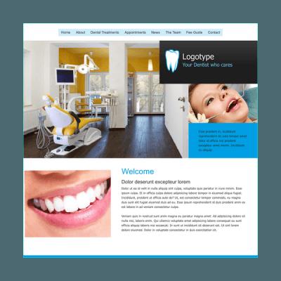 Zahnarzt 1 (Web-Vorlage)