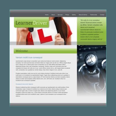 Fahrschule 2 (Web-Vorlage)