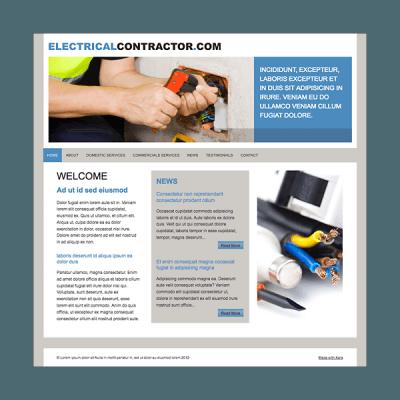 Elektriker 2 (Web-Vorlage)
