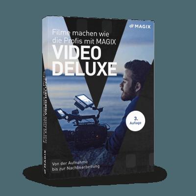 Filme machen wie die Profis mit MAGIX Video deluxe (Buch)
