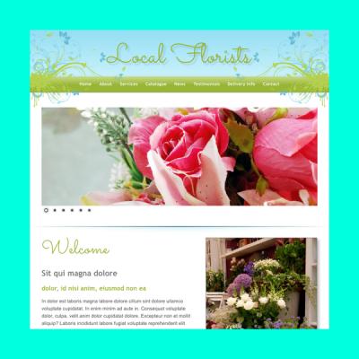 Florist 2 (Web-Vorlage)