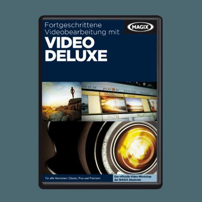 Fortgeschrittene Videobearbeitung mit Video deluxe
