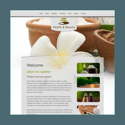 Schönheitssalon 2 (Web-Vorlage)