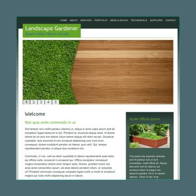 Gärtner 1 (Web-Vorlage)