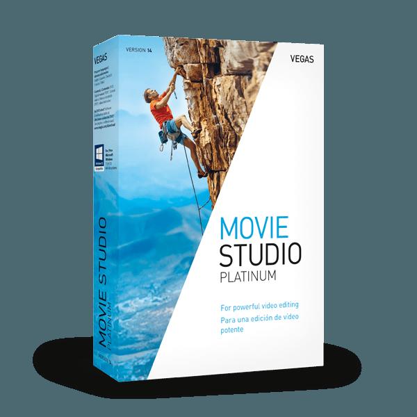 VEGAS Movie Studio 14 Platinum 01905359990