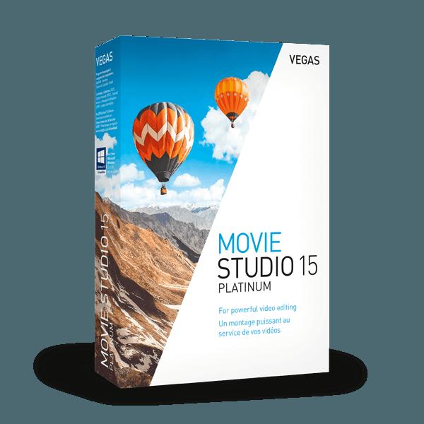 Upgrade: VEGAS Movie Studio 15 Platinum