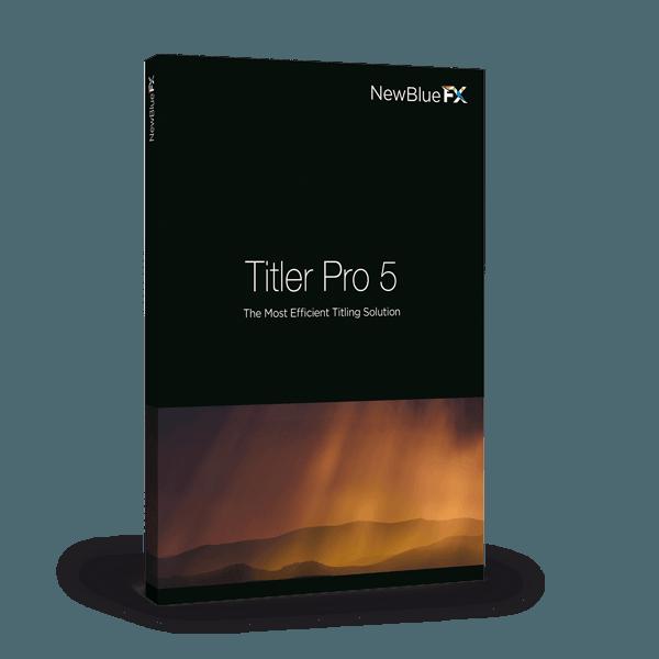 NewBlueFX Titler Pro 5
