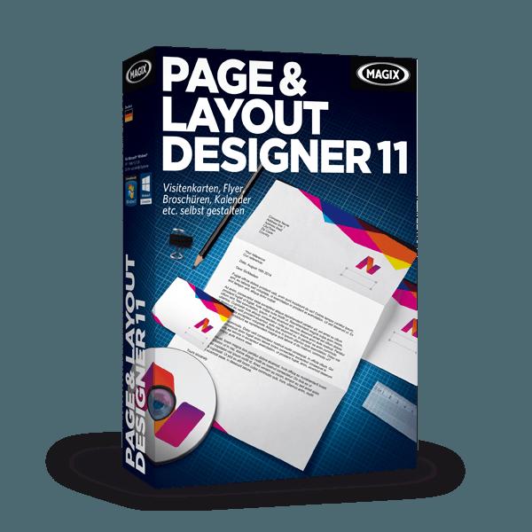 MAGIX Page & Layout Designer 11