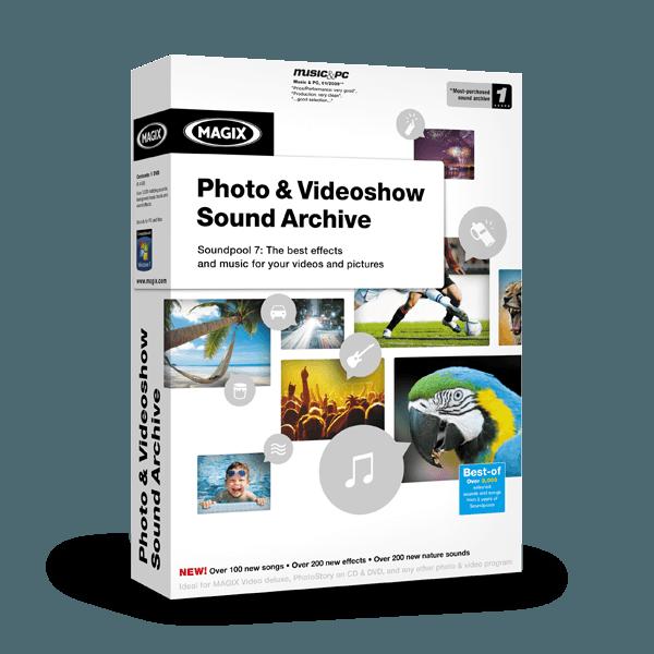 Image of        MAGIX Photo & Videoshow Sound Archive