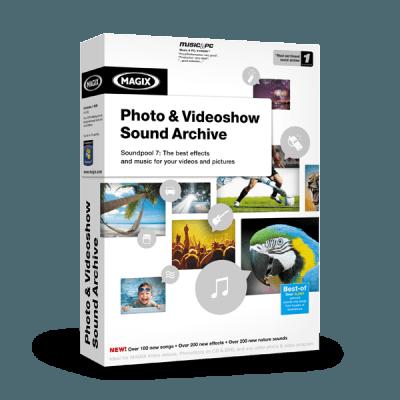 MAGIX Photo & Videoshow Sound Archive