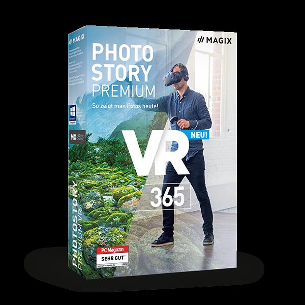 MAGIX Photostory Premium VR 365
