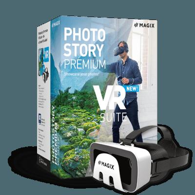 MAGIX Photostory Premium VR Suite