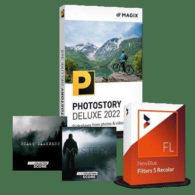 Mise à niveau :  MAGIX Photostory Deluxe 2022