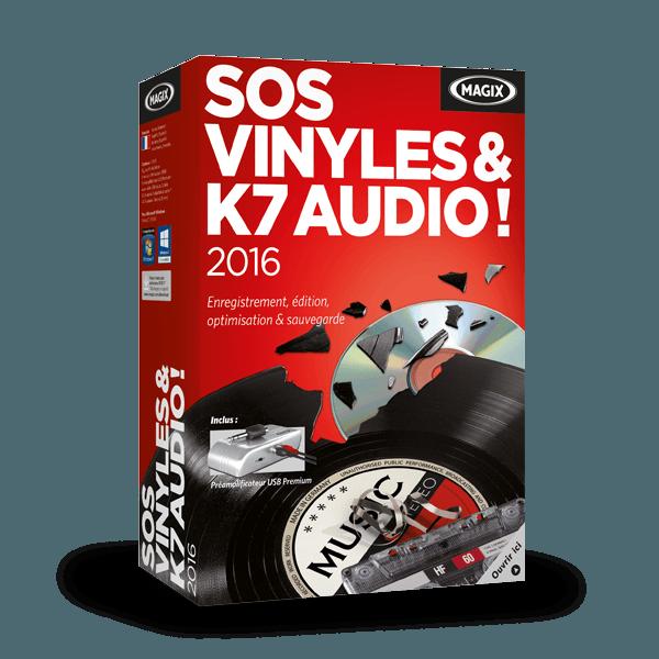 MAGIX SOS Vinyles & K7 audio ! 2016