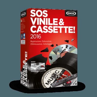 MAGIX SOS Vinile & Cassette! 2016