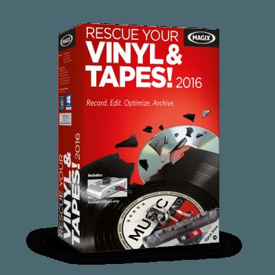 MAGIX Rescue Your Vinyl & Tapes! 2016