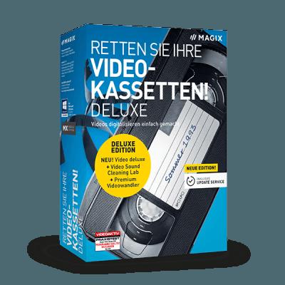 MAGIX Retten Sie Ihre Videokassetten! deluxe