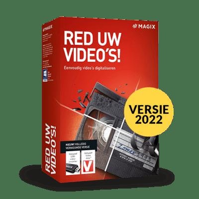 MAGIX Red uw video's!
