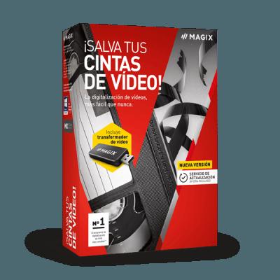 MAGIX ¡Salva tus cintas de vídeo!