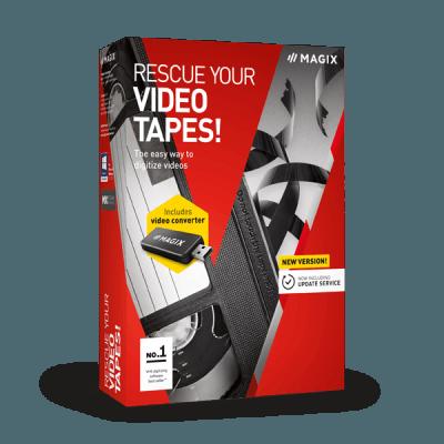 MAGIX Rescue Your Videotapes!