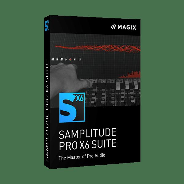 Samplitude Pro X6 Suite