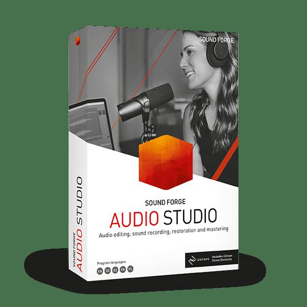 SOUND FORGE Audio Studio 15