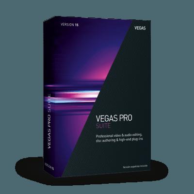 Upgrade: VEGAS Pro 15 Suite