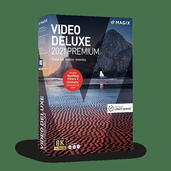 MAGIX Vidéo deluxe 2021 Premium