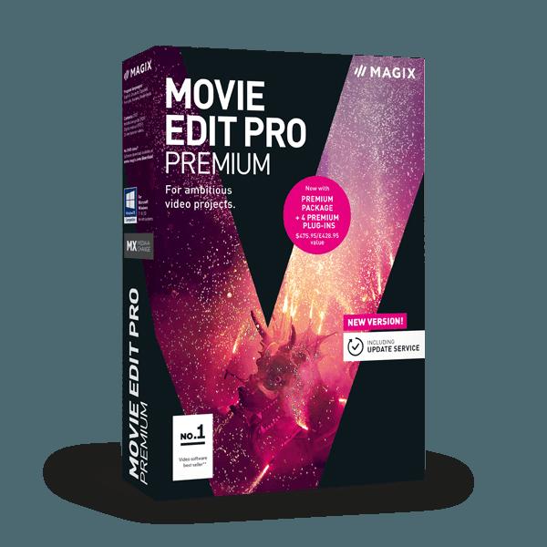 MAGIX Movie Edit Pro Premium 019709129990
