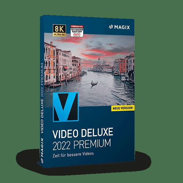 MAGIX Video deluxe 2022 Premium (EDU)