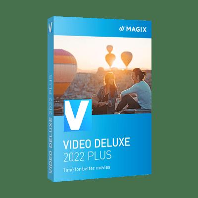 MAGIX Vidéo deluxe 2022 Plus