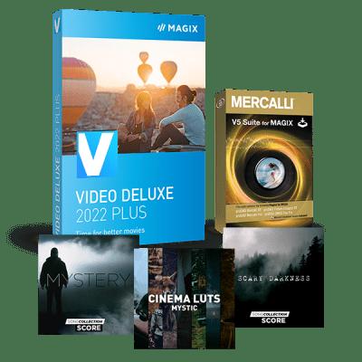 Mise à niveau : MAGIX Vidéo deluxe 2022 Plus