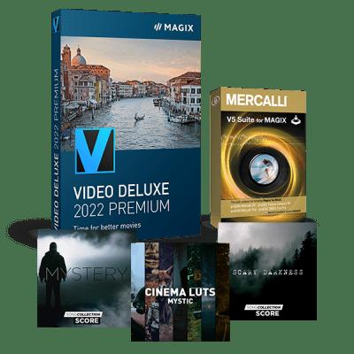Mise à niveau : MAGIX Vidéo deluxe 2022 Premium