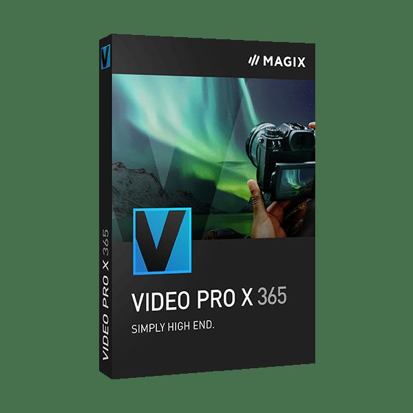 MAGIX Video Pro X 365