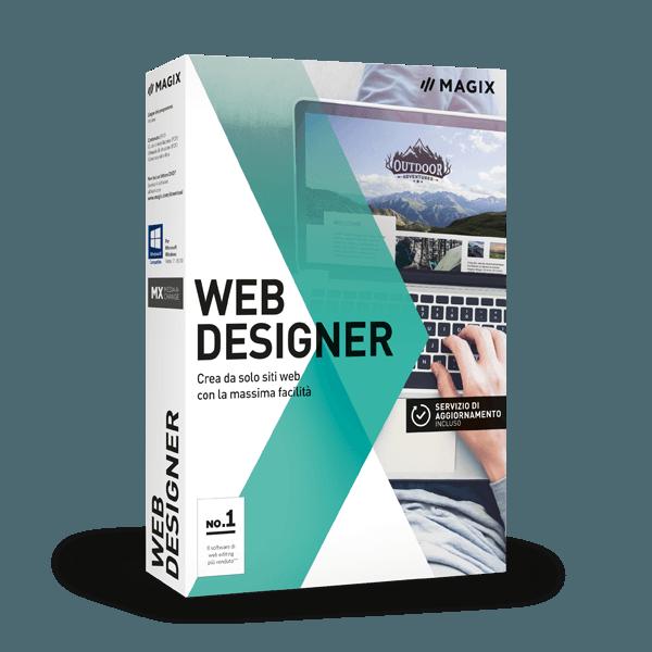 Image of MAGIX Web Designer